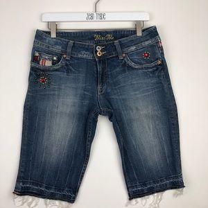 Miss Me Jeans Bermuda Shorts